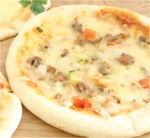 グリルチキンピザ